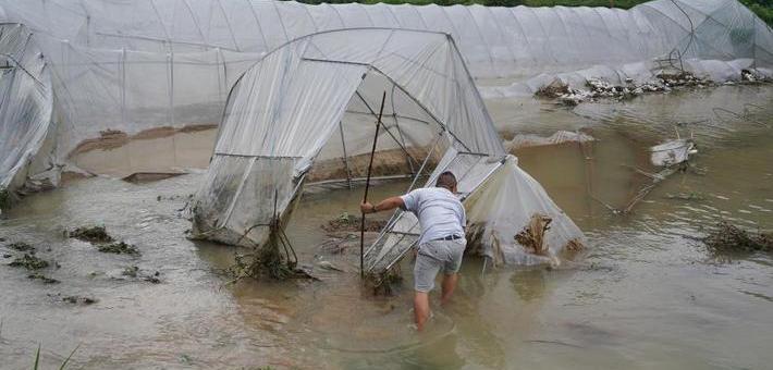 贵州持续强降雨 25万人受影响