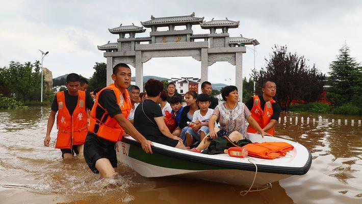 淮北洪水围村近8千群众被困