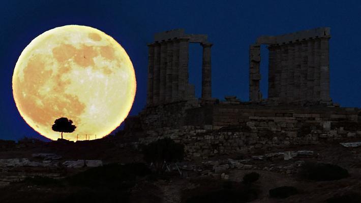 中秋节共赏世界各国月光美景