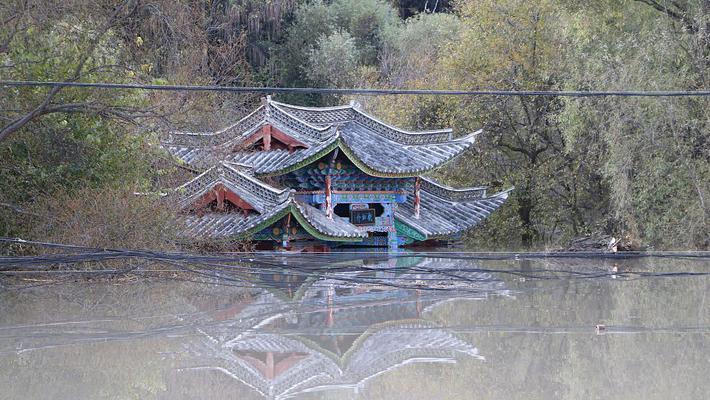 丽江有记载以来最大洪峰过境