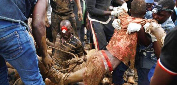 津巴布韦总统宣布事故为国家灾难