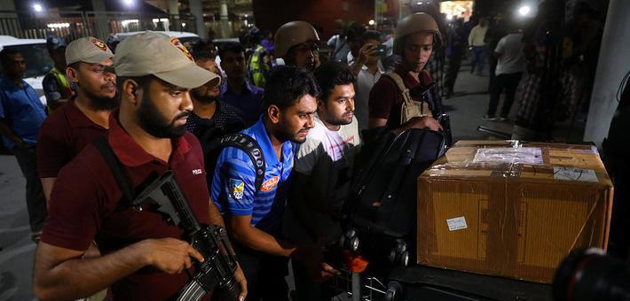 孟加拉板球队迟到躲过新西兰枪击案