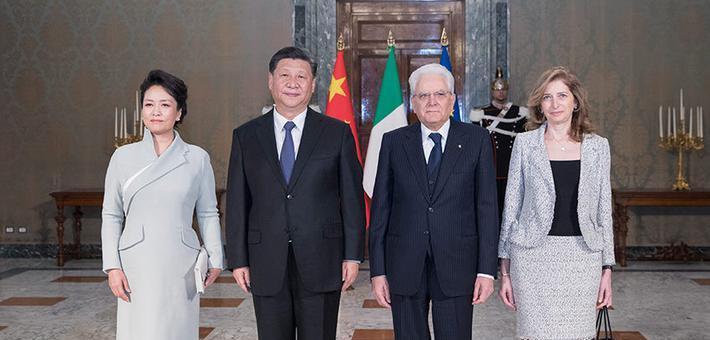 习近平同意大利总统举行会谈