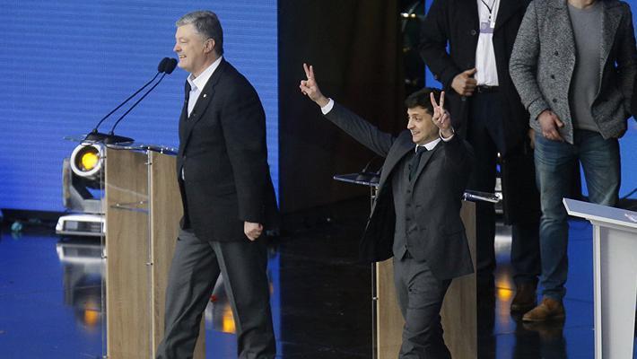 喜剧演员当选乌克兰总统