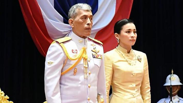 泰国王及王后出席新一届国会
