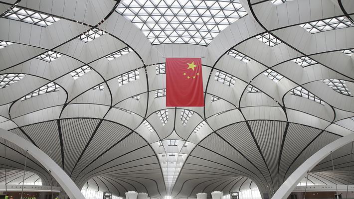 大兴机场将竣工 机场内景曝光