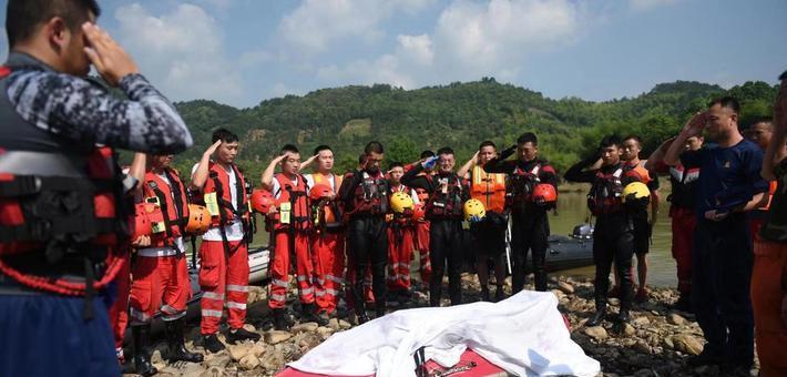 浙江救人失聯消防員遺體找到