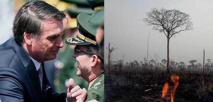巴西总统称可以派军队赴亚马孙雨林