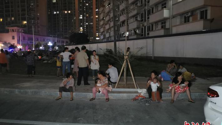 广西玉林市发生5.2级地震