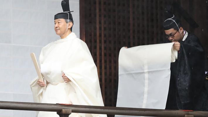 日本德仁天皇即位大典将举行
