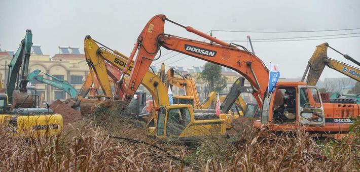 """武汉版""""小汤山""""开建 将在6天内建成"""