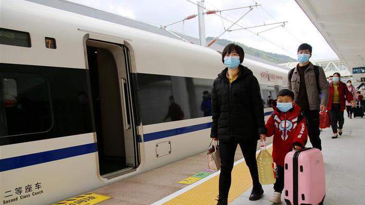 湖北汉十高铁恢复运行