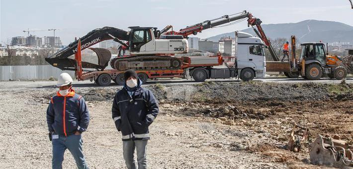 土耳其开始建设方舱医院