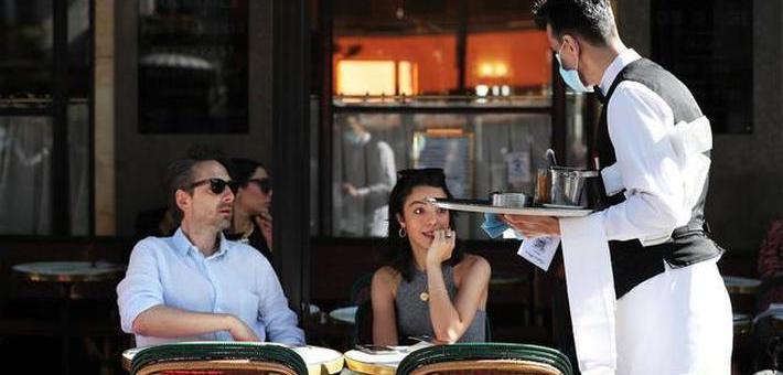 法国进入解禁第二阶段 餐馆酒吧开放