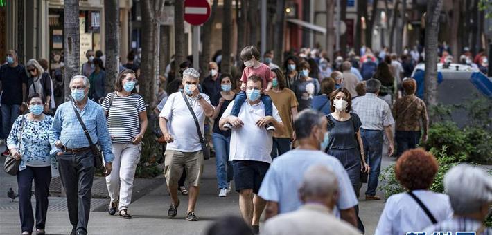 西班牙加区:公共场所须佩戴口罩