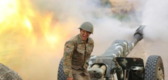直击亚美尼亚和阿塞拜疆冲突前线