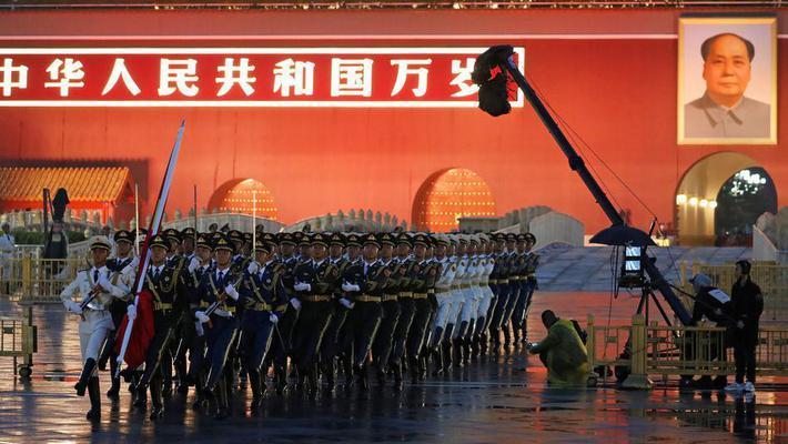 国庆天安门升旗仪式