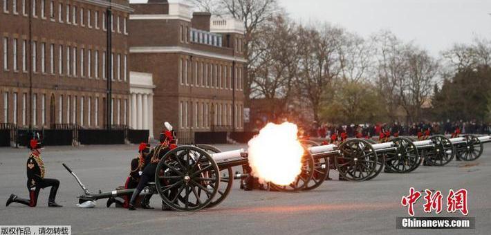 英国多地悼念菲利普亲王