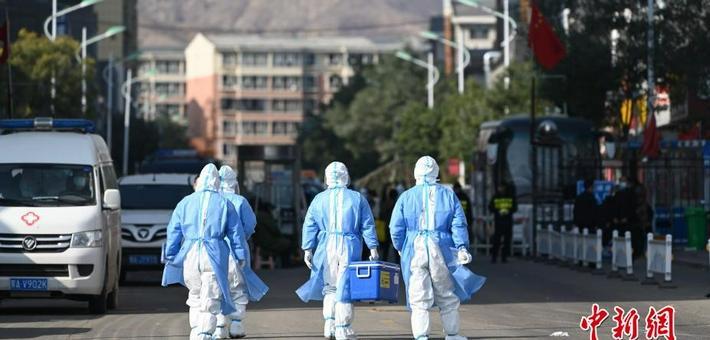呼和浩特市确诊病例小区封闭防疫