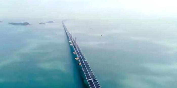 港珠澳大橋通車一周年 外媒給出這份成績單