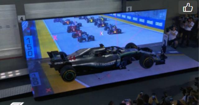 F1新加坡站正赛汉密尔顿夺冠_直播间_手机新浪网