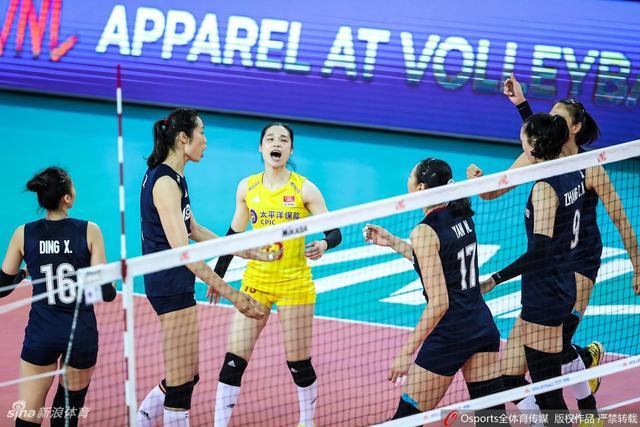 世界女排联赛江门站 中国 0-3 美国_直播间_手机新浪网