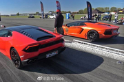 兰博基尼Aventador LP700 vs Huracan LP580-2