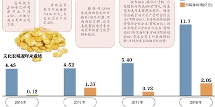 文化長城靚麗年報被審計機構打臉 所收購子公司失控