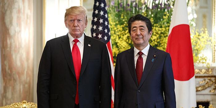 """特朗普再提和日本的貿易逆差""""大到難以置信"""""""