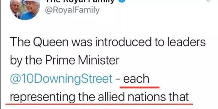 把德國說成二戰盟軍 英國皇室社交賬號尷尬刪帖