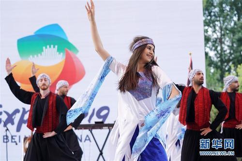 """北京世园会迎来""""巴勒斯坦国度日"""""""