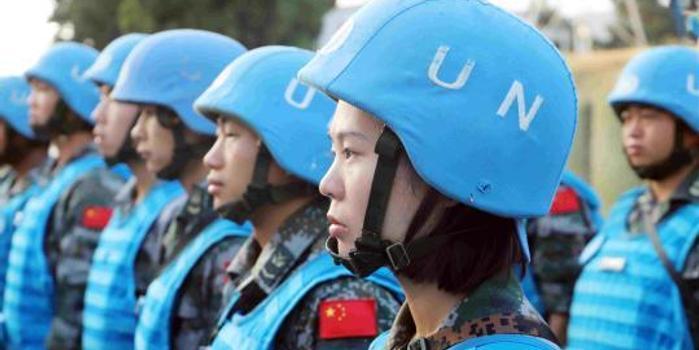 中國女掃雷手首次踏入黎以雷場 訓練時手曾磨出血泡