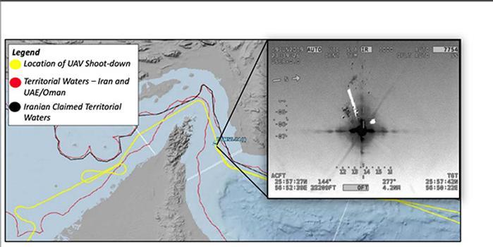 """""""全球鷹""""無人機遭伊朗擊落,美國或遭受重大技術損失"""