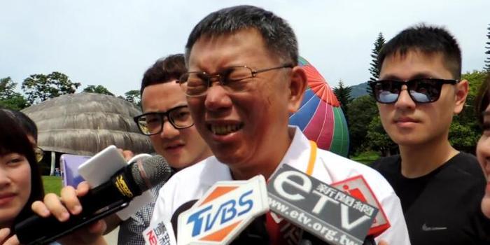 韓國瑜提熱氣球解決臺北擁堵 柯文哲:忍住沒笑