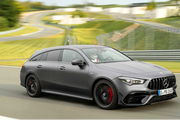 新款AMG CLA 45 Shooting Brake首次亮相