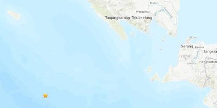雙色球網站_印尼西南部海域發生5.0級地震 震源深度10公里