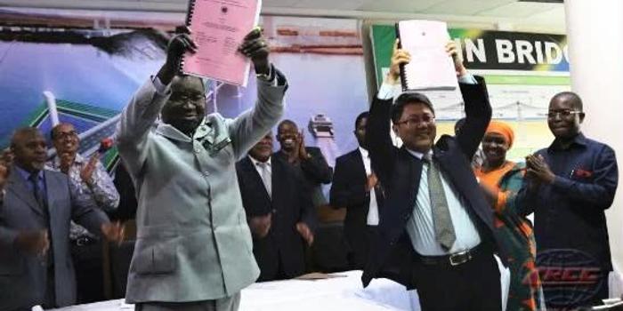 中國鐵建攬獲非洲第一長橋項目