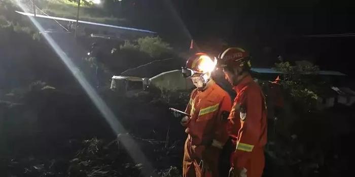 快3走勢圖_四川甘洛一村莊發生山體邊坡垮塌 地方正全力救援