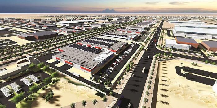 中國鐵建拿下沙特能源城基礎設施與管線項目