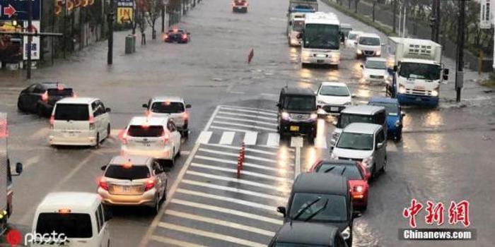 臺風再襲日本引發暴雨 千葉福島兩縣已有10人遇難