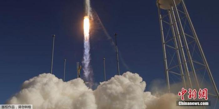 """美""""天鵝座""""飛船發射升空 將為空間站帶去烤箱"""