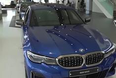 2020款宝马3系M340i到店鉴赏,坐进车内的那刻,我忘记了奥迪A6
