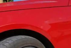 奔驰e260原车拉丝轮毂改电镀钨钢黑