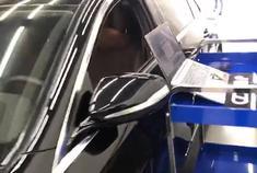 奔驰E200HDP一阶写入中,等待测试结果