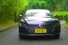 MQB平台最美大众颜值实力统统都有丨一汽大众CC新车首测