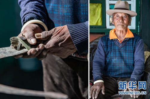 """双手的""""新生"""" 西藏民主改革第一村影像记录"""