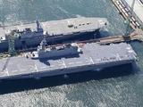 不再伪装!直升机护卫舰成为真航母 辽宁号迎来强劲对手