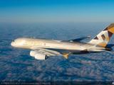 阿提哈德航空公布年度数据 运输旅客近1740万