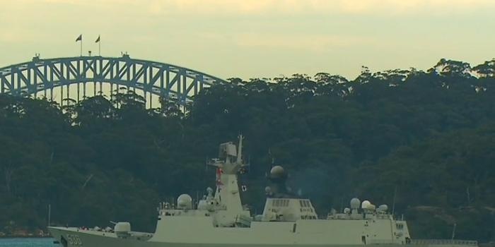 """三艘中國軍艦""""突然訪問""""悉尼港,澳總理:是回訪"""