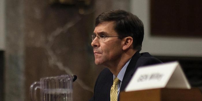 特朗普提名馬克-埃斯珀為新任國防部長